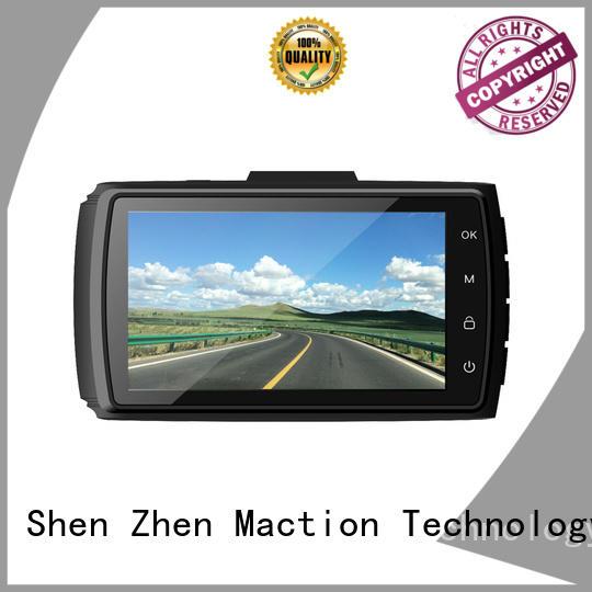 Maction newest dual cam dash cam series for park
