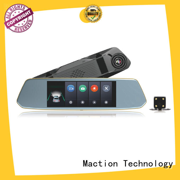 Maction competitive rear view mirror dash cam series for home