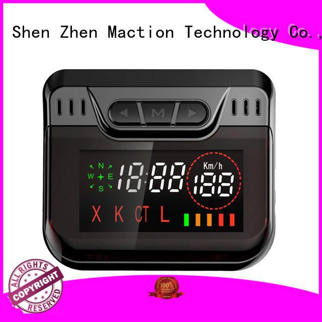 Maction korean car radar detector supplier for station