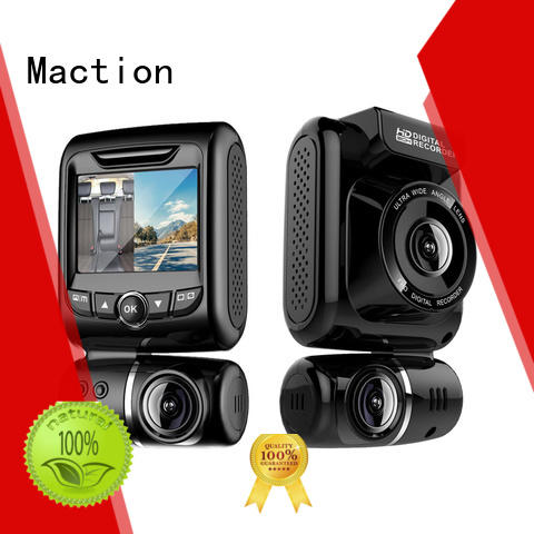 Maction newest dual cam dash cam supplier for street