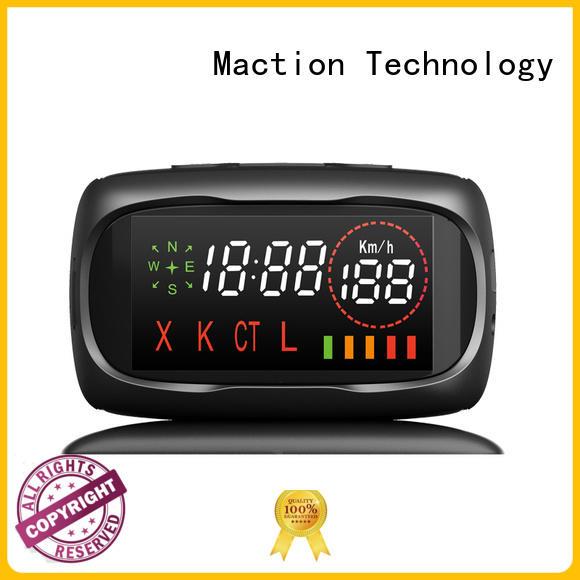 Maction korean best gps tracker for car supplier for station