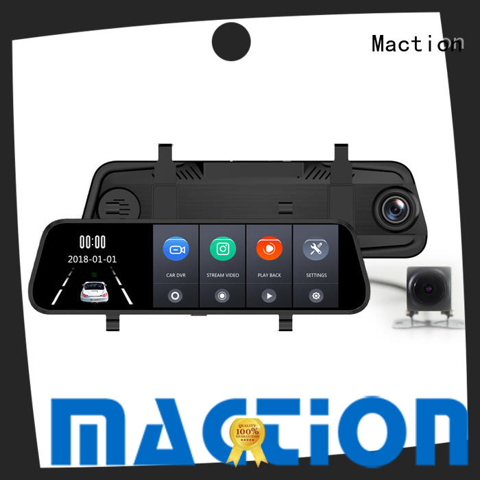 Maction private rear view mirror dash cam factory for car