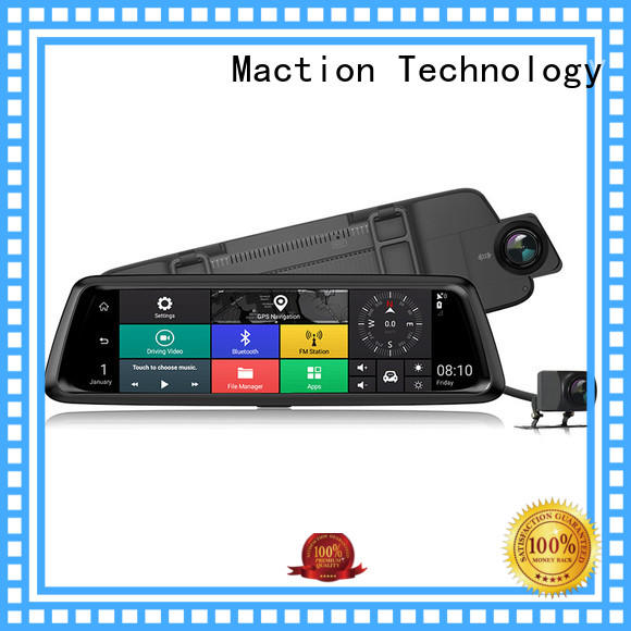 Maction lens touch screen dash cam supplier for park