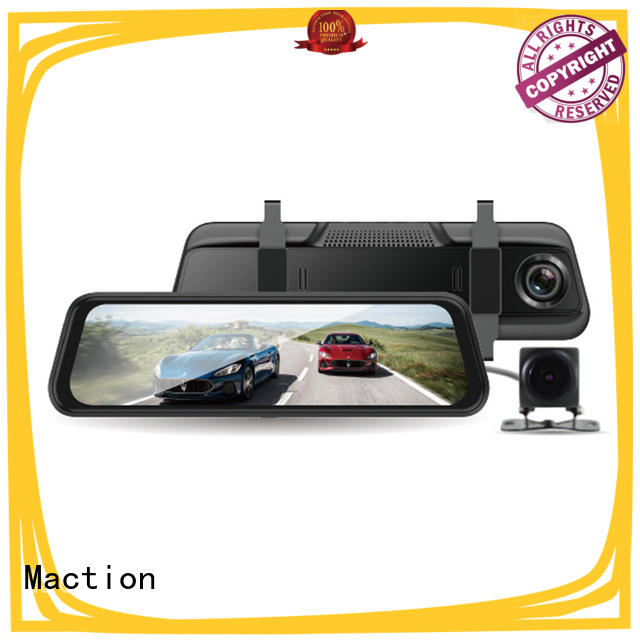 Maction full rearview mirror dvr company for park