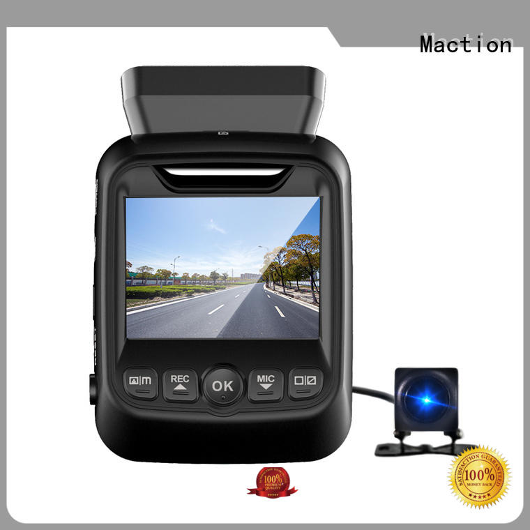Maction camera dual dash cam manufacturers for street