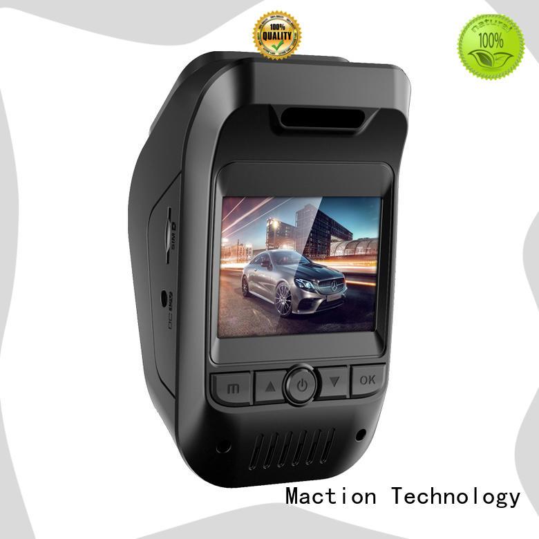 Maction wifi dual cam dash cam manufacturer for street