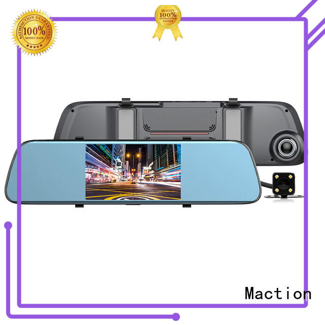 Maction design rear view mirror dash cam company for street