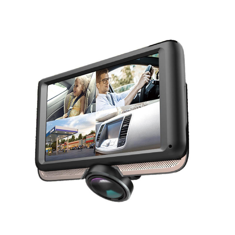 Touch Screen 360° Panoramic Dash Cam 1440P Car Camera E416