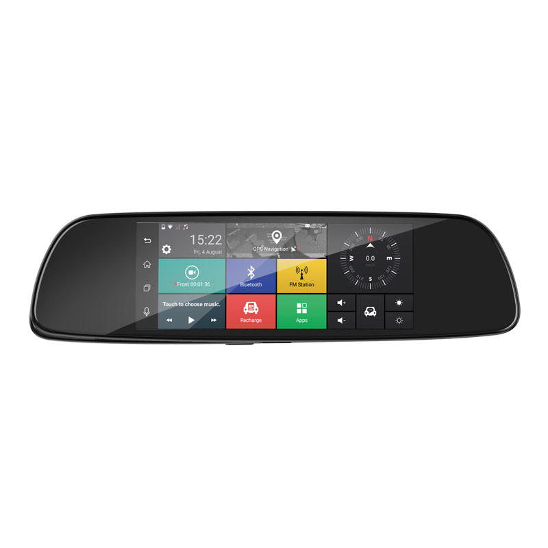 3G WiFi Dual Lens  Car DVR  Android Dash Cam M710D