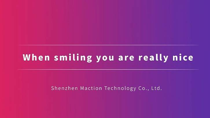 When Smiling You Are Really Nice