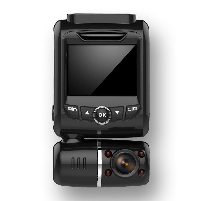 Dual Full HD1080P dash cam WIFI IR internal GPS track L236
