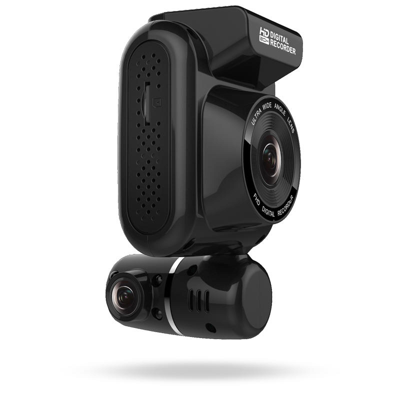 Dual Full HD1080P dash cam WIFI IR internal GPS track L236