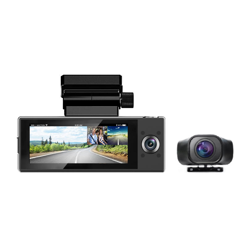 3 channels WIFI GPS 2K-FHD1080P-FHD1080P Hiden Magnetic bracket Dash Cam