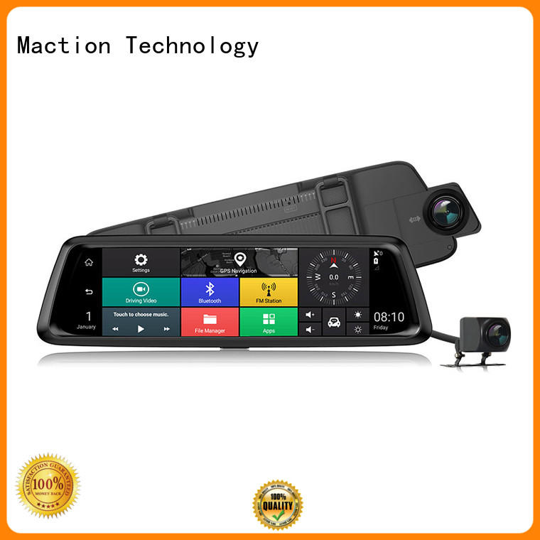 dual touch screen dash cam wifi series for station