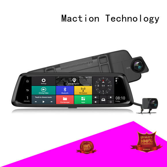 Maction lens 4g car dvr wholesale for station