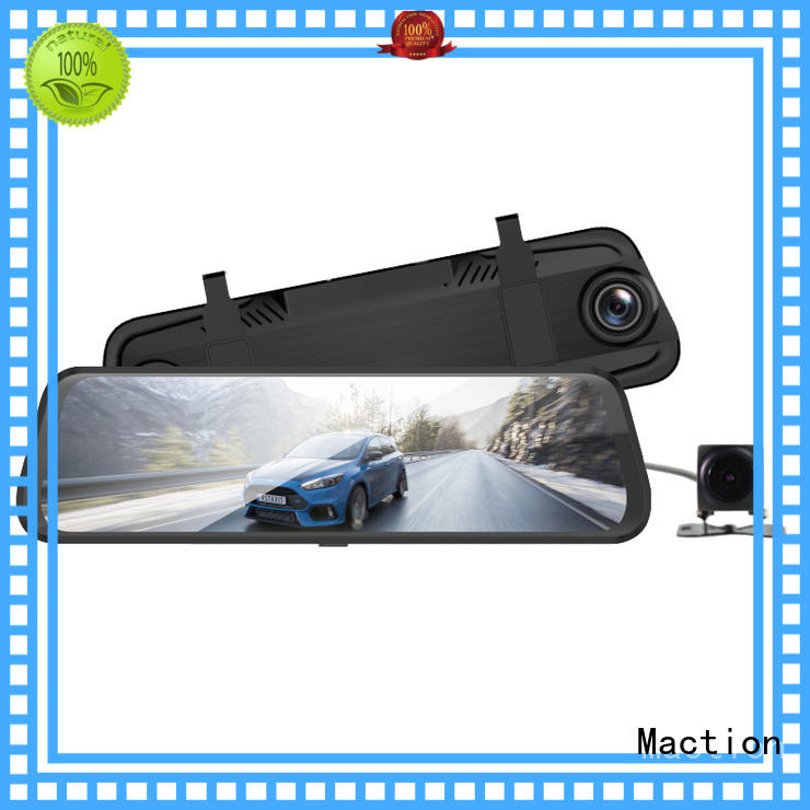 Maction dash car mirror camera supplier for home