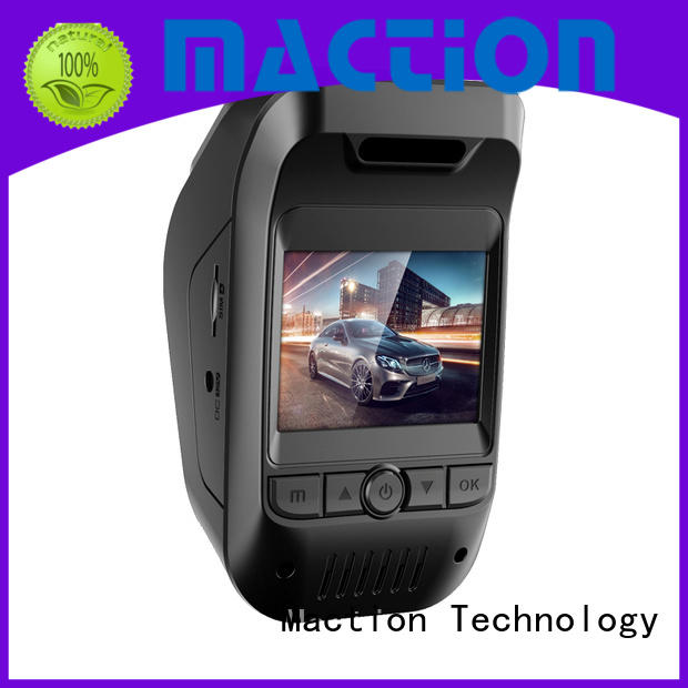 Maction Latest dual cam dash cam manufacturers for street