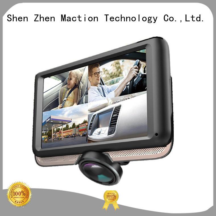 panel 360 degree dash cam screen for street Maction