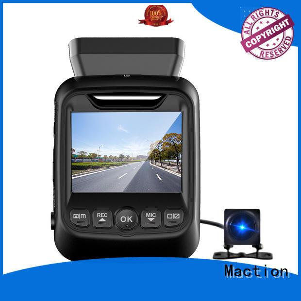 Maction super dual dash cam manufacturer for park
