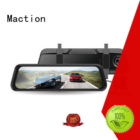 Maction private rearview mirror dvr screen station