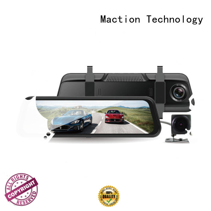Maction competitive rear view mirror dash cam supplier for park