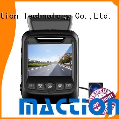 Maction imx dual car camera for business for car