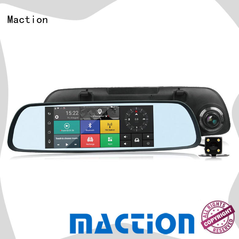 dual 3g car dvr mirror series for station