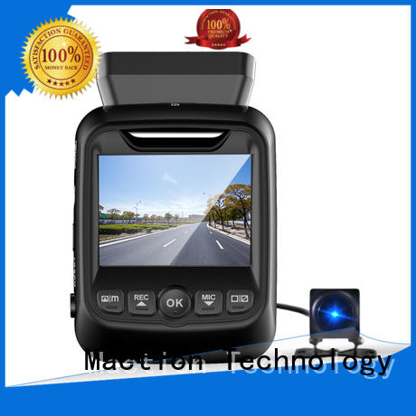 Maction super dual cam dash cam wholesale for street