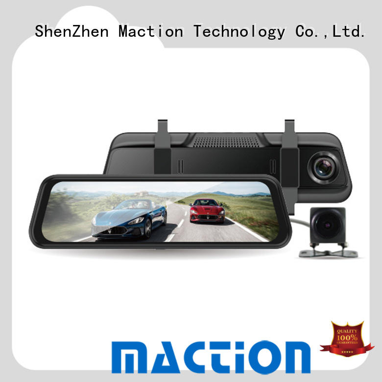 Maction touch backup camera mirror manufacturers for car