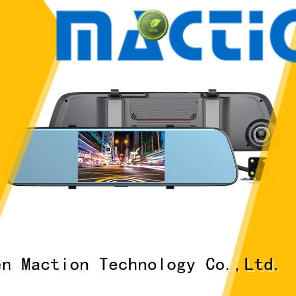 Maction design car mirror camera screen for street