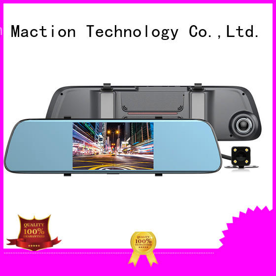 dual rear view mirror camera recorder lens for park Maction