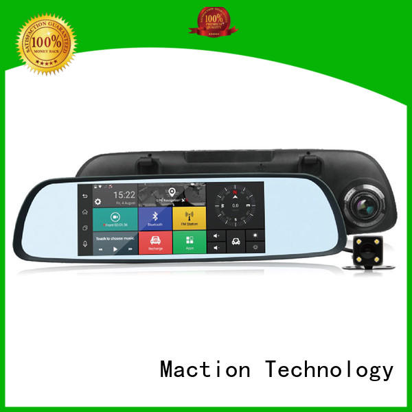 Custom touch screen dash cam wifi Supply for street