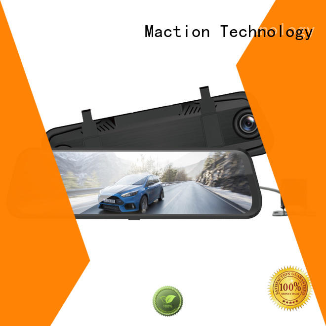 Maction lens rear view mirror dash cam wholesale for street