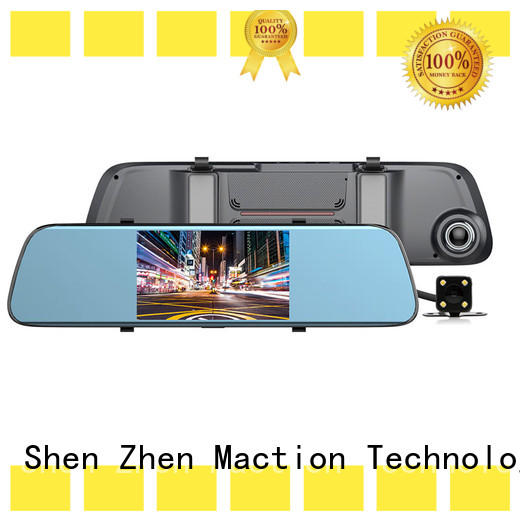 Maction private rearview mirror dvr manufacturer for park