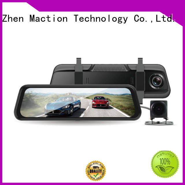 Maction private rear view mirror dash cam manufacturer for car