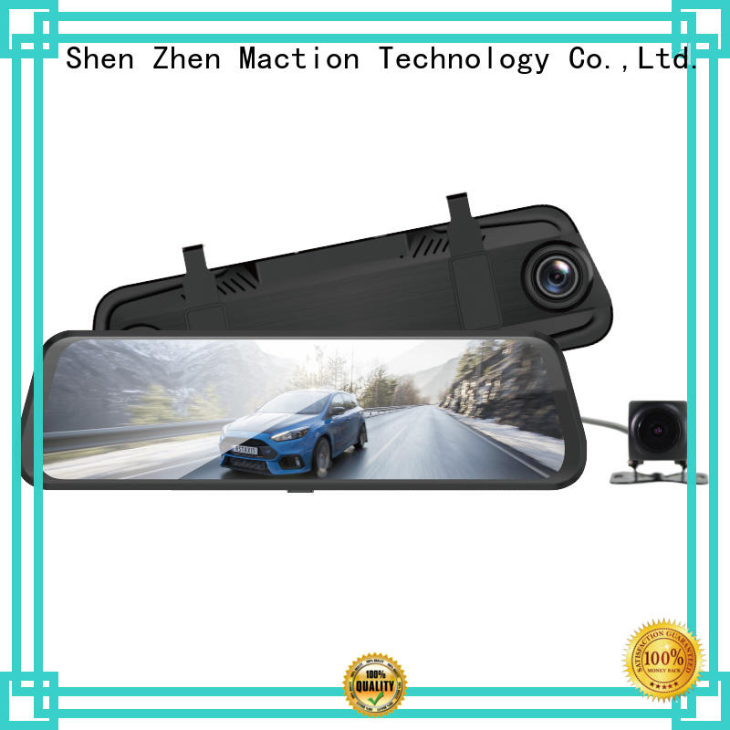 inch rearview mirror dvr supplier for home Maction