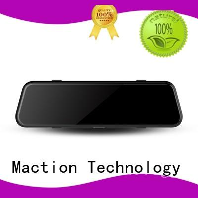 Maction mould rear view mirror dash cam supplier for park