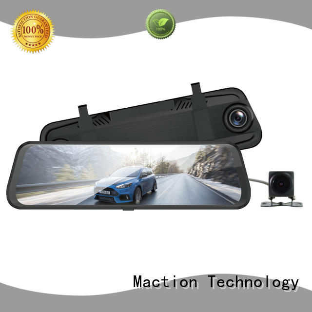 backup camera mirror dual station Maction