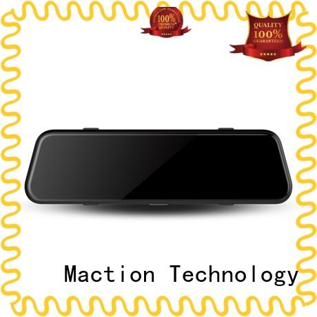 Maction channel rear view mirror camera supplier for street