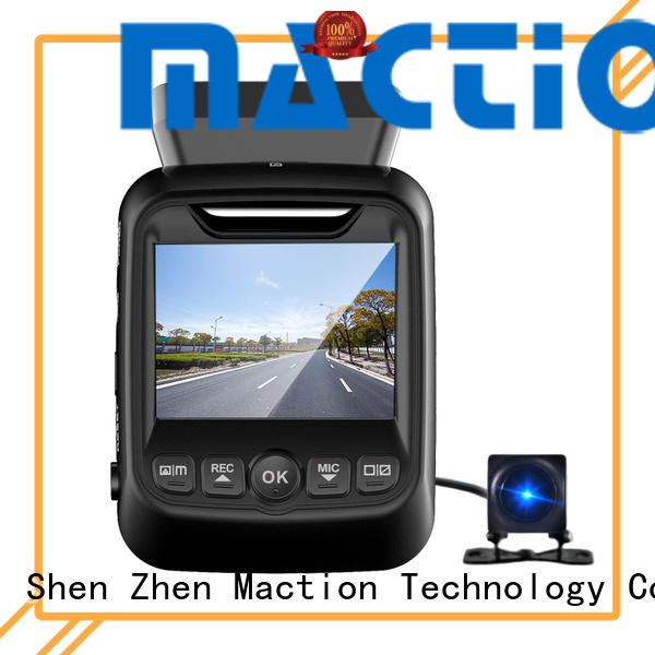 Maction capacitor dual dash cam wholesale for car