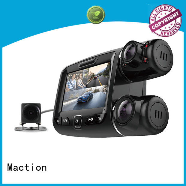 Maction private dual car camera supplier for street