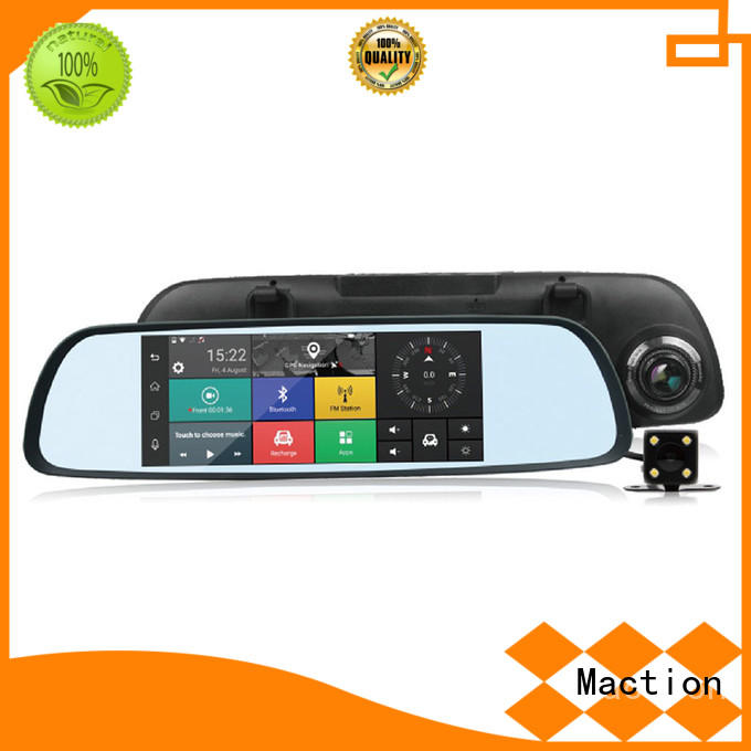 wifi wifi car dash cam dual station Maction