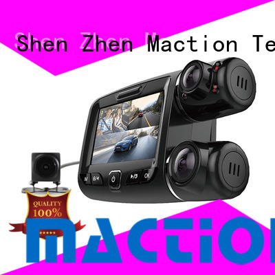 Maction newest dual cam dash cam manufacturer for park