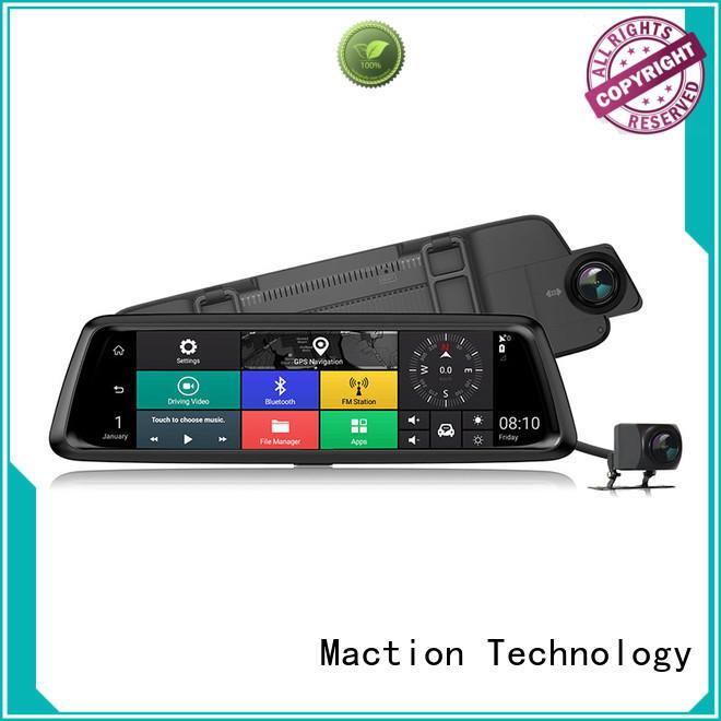 Maction hidden car dash cam pro series for station