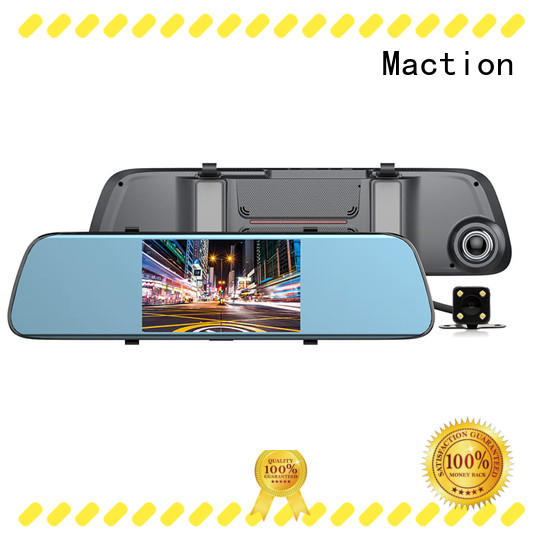 car rear view dash cam combo park Maction