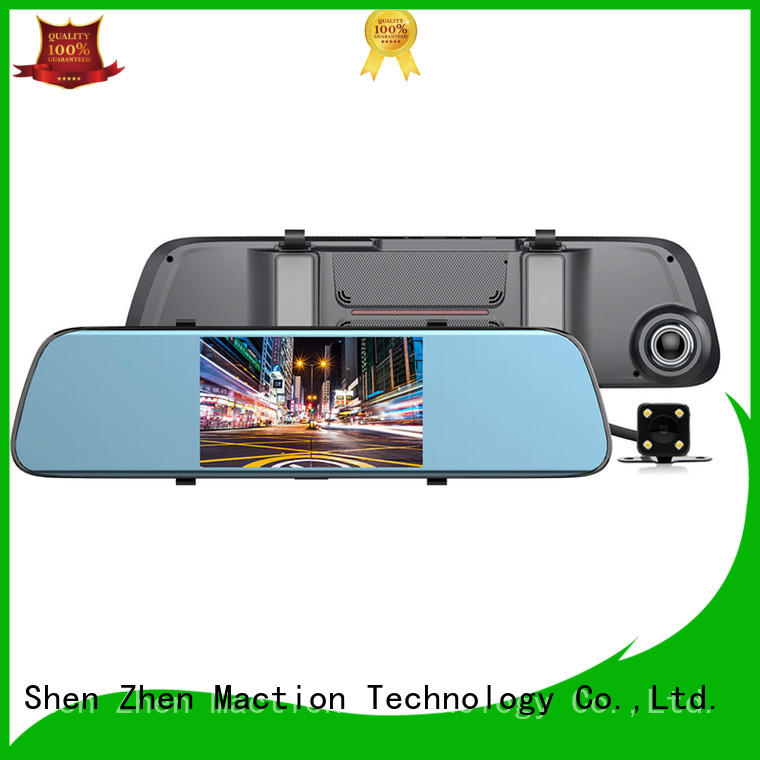 dual reverse camera mirror supplier for street Maction