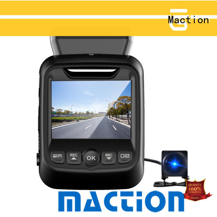 Maction New dual dash cam for business for park