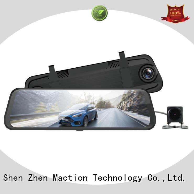 Maction lens rearview mirror dvr series for park