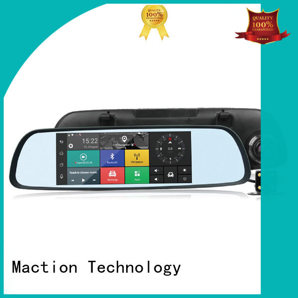 Maction camera touch screen dash cam supplier for station
