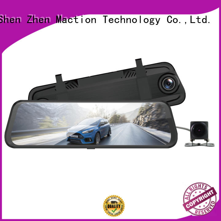 rear view mirror camera recorder inch park Maction